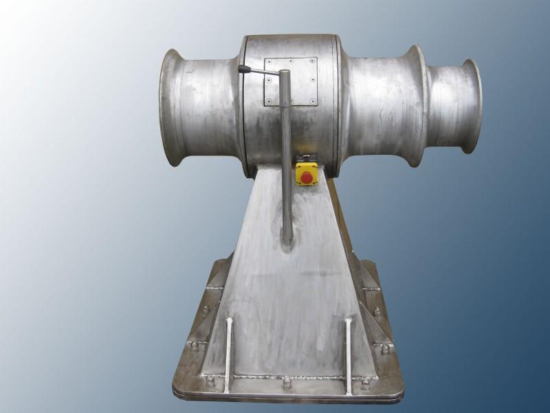 Maquinilla hidraulica para pesca de cerco contruida en acero inóxidable para diferentes aparejos
